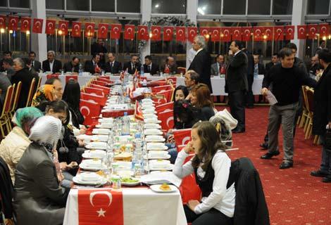 AK Partiden Şehit Gecesi
