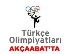 Akçaabatta Türkçe Olimpiyatları Heyecanı