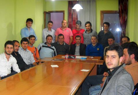AK Parti Gençlik Kolları Toplantısı Yapıldı