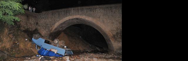 Osmanbaba Köprüsünden Uçtu