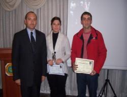 Mesleki eğitimde sertifika töreni