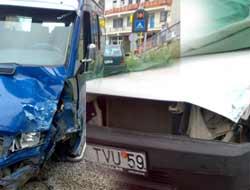 Akçaabatta Trafik Kazası