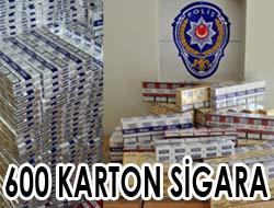 600 Karton Kaçak Sigara