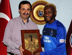 Trabzonspordan Yattaraya Plaket