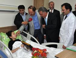 Hastane Başbakansız Açıldı
