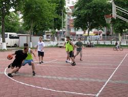 Sokak Basketbolu Sonuçlandı