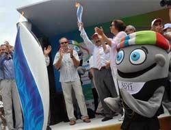Olimpiyat Meşalesi Trabzonda