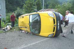Vakfıkebir Kaza: 7 yaralı