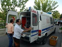 Aydın Köyünde feci kaza