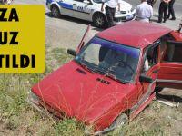Akçaabat'ta meydana gelen trafik kazasında 4 kişi yaralandı.