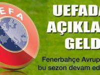 UEFA'dan CAS kararına resmi açıklama!