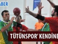 Tütünspor Hentbol Takımı 1 Sayı Fark İle Galip