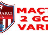 Akçaabat FK deplasmanda oynadığı Tekirova Belediyespor ile  1-1 berabere kaldı.
