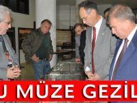 Akçaabat'ta Çanakkale Savaş Malzemeleri Müzesi' açıldı