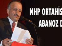 Trabzon Ortahisar Belediyesi için başkan adayı Osman Abanoz