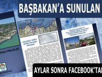 Akçaabat için önemli projeler Başbakan Recep Tayyip Erdoğan'a sunuldu.