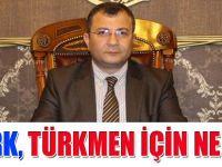 Öztürk Türkmen'in Açıklanmasına ne dedi?