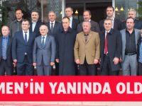 Adalet ve Kalkınma Partisi Trabzon'daki beledieye başkan adaylarını tanıttı.