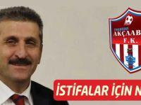 Zeki Öztürk'ün istifa Yorumu