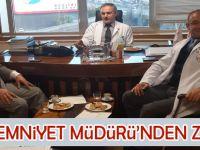 Murat Köksal, Özel Yıldızlıgüven Hastanesi'ni ziyaret etti.