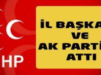 MHP İlçe Başkanı'ndan Eleştirilere cevap Geldi