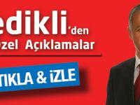 Metin Gedikli'den çok özel açıklamalar.