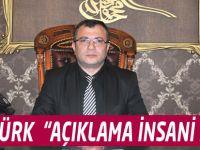 """Akçaabat İlçe Başkanı Ahmet Ziya Öztürk """"Açıklamalar İnsani değil"""""""