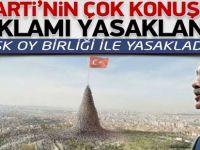 AK Partiye Şok Reklam Yasağı