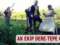 AK Parti Çalınmadık Kapı Bırakmıyor.