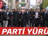 AK Parti'den Seçim Yürüyüşü