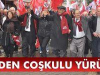 CHP'den Seçim Yürüyüşünde Gövde Gösterisi
