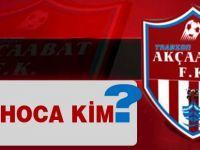 Akçaabat FK'da Hoca Değişikliği
