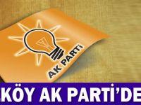 AK Parti Düzköy'de şok