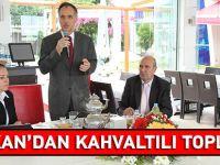 Şefik Türkmen'den Kahvaltılı Toplantı