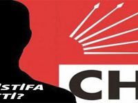 CHP'de İstifa var.