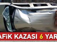 Düzköy'de Trafik Kazası
