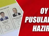 Oy Pusulaları Hazır