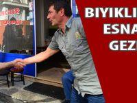 Bıyıklıoğlu-Türkmen Esnafı Gezdi