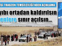 Sınırlar Türkmenlere açılsın!