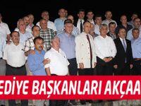 Başkanlar Akçaabat'ta Toplandı