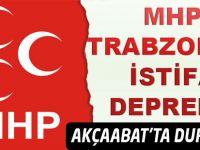 MHP Trabzon Teşkilatı İstafa etti. Akçaabat'ta durum nedir.