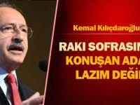 Kılçdaroğlu'ndan Kongrede Konuştu