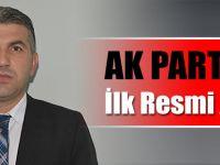 AK Parti'de İlk Resmi Aday