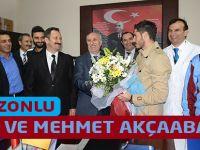Özer ve Mehmet Akçaabat'taydı