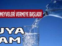 Trabzon'da Suya Zam Geldi