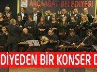 Belediye Türk Sanat Müziği Korosu Sezonu Açtı