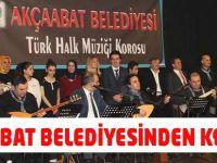 Akçaabat Belediyesinden Konser