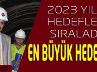 2023'te Türkiye dünyada, Trabzon da Türkiye'de ilk 10 da olacaktır.