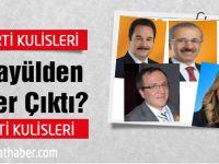 AK Parti'de Kimler ilk 6'ya girdi.