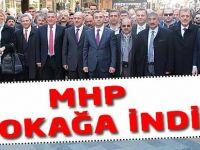 MHP Trabzon'da Sokağa İndi